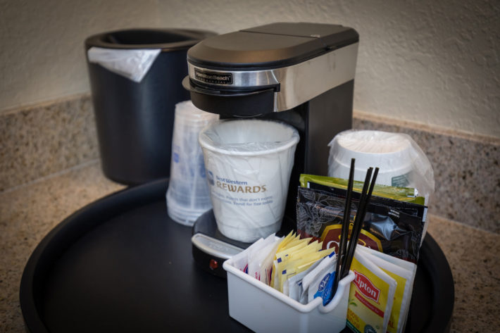 Best Western Plus Airport Inn & Suites Oakland Hotel Coffe Maker