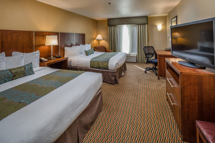 Best Western Plus Airport Inn & Suites Oakland Hotel Queen Standard Room 1