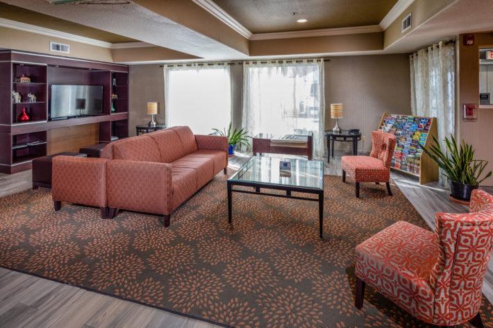 Best Western Plus Airport Inn & Suites Oakland Hotel Reception Area