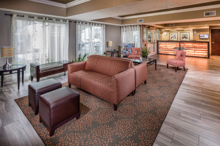 Best Western Plus Airport Inn & Suites Oakland Hotel Reception